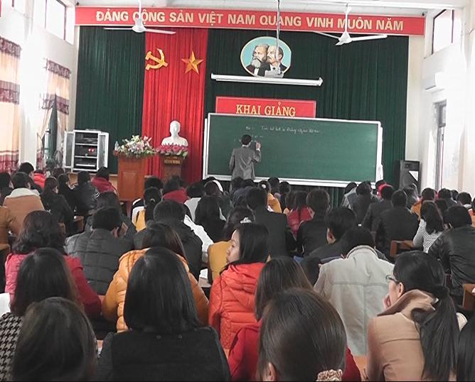 Khai giảng lớp bồi dưỡng đối tượng kết nạp Đảng khóa I năm 2014