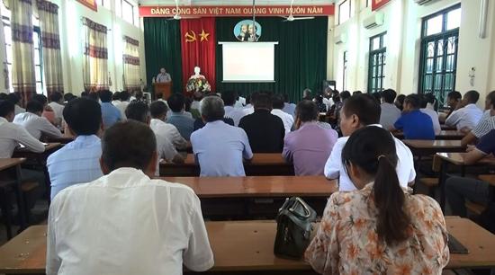 Bồi dưỡng nghiệp vụ công tác Trưởng thôn, Phó thôn, Tổ trưởng Tổ dân phố năm 2020
