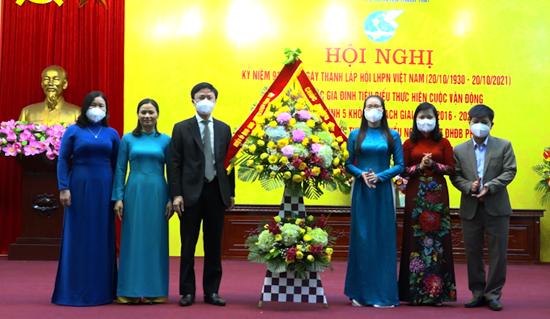 Hội Liên hiệp Phụ nữ huyện Kỷ niệm  91 năm Ngày thành lập Hội Liên hiệp Phụ nữ Việt Nam (20/10/1930- 20/10/2021)