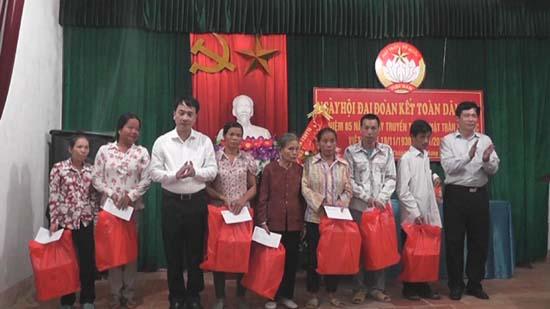 Ngày hội đại đoàn kết toàn dân tộc tại thôn 5- xã Tân Xã