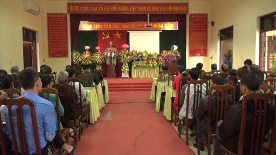 Xã Đồng Trúc đón nhận danh hiệu Cơ quan UBND đạt chuẩn văn hóa