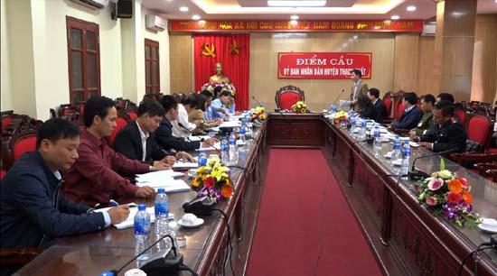 Tổ công tác liên ngành số 1 Hà Nội kiểm tra công tác phòng, chống bệnh Dịch tả lợn châu Phi trên địa bàn huyện Thạch Thất