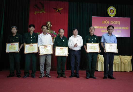 Hội Cựu chiến binh Lại Thượng tổng kết phong trào thi đua Cựu chiến binh gương mẫu