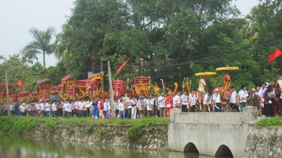 Xã Hương Ngải khai hội truyền thống.