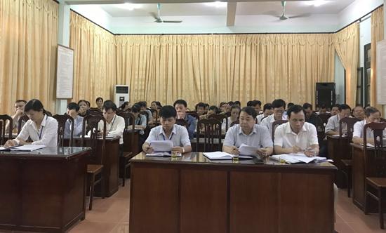Hội đồng Nhân dân xã Đại Đồng tổ chức phiên giải trình giữa 2 kỳ họp