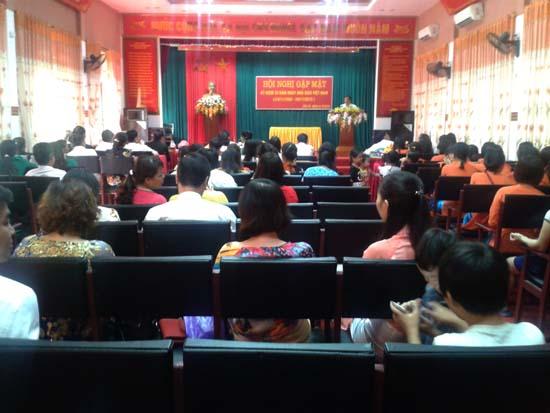 Tân Xã gặp mặt kỷ niệm ngày Nhà giáo Việt Nam
