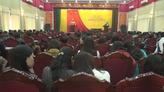 Huyện Thạch Thất giao chỉ tiêu kinh tế- xã hội và dự toán ngân sách Nhà nước năm 2017