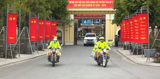 Kế hoạch đảm bảo trật tự, an toàn giao thông trên địa bàn huyện Thạch Thất năm 2021