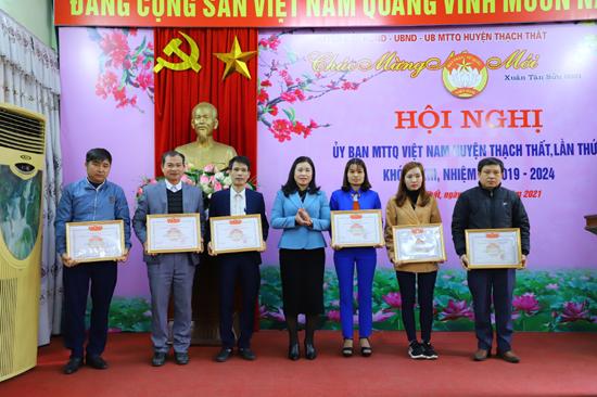 Năm 2020, UBMTTQ huyện Thạch Thất nhiều hoạt động nổi bật