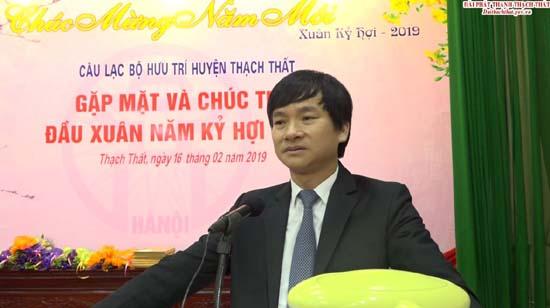 Câu lạc bộ hưu trí huyện Thạch Thất gặp mặt và chúc thọ đầu xuân Kỷ Hợi 2019