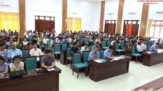 Thạch Thất phát động cuộc thi Tìm hiểu dịch vụ công trực tuyến năm 2019