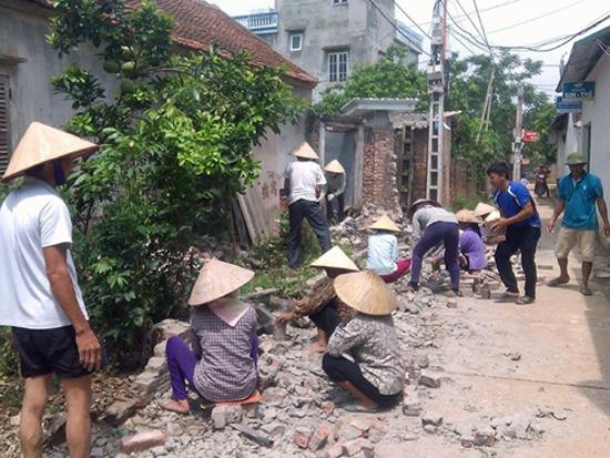 Các cấp hội nông dân huyện: Tích cực hưởng ứng tham gia xây dựng nông thôn mới