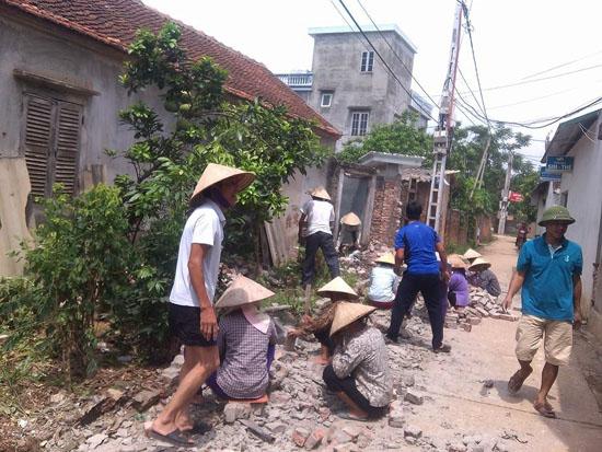 Ban Dân vận Huyện ủy Thạch Thất: Phát huy vai trò của các Tổ dân vận ở cơ sở