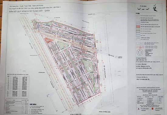 Công bố Quy hoạch chi tiết tỷ lệ 1.500 Cụm công nghiệp Chàng Sơn giai đoạn 2