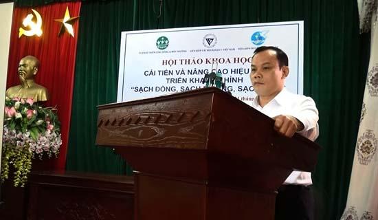 Hội thảo cải tiến và nâng cao hiệu quả mô hình sạch đồng, sạch đường, sạch nhà trên địa bàn huyện