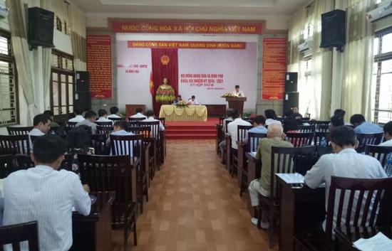 Kỳ họp thứ 8, HĐND xã Bình Phú khóa XIX