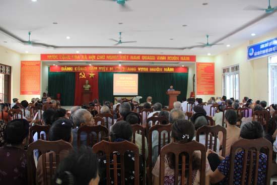 Xã Chàng Sơn  triển khai kế hoạch Tang văn minh, tiến bộ năm 2019