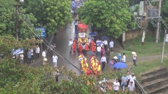 Nhà thờ họ Nguyễn Đăng- xã Phùng Xá đón Bằng xếp hạng Di tích lịch sử của Thành phố