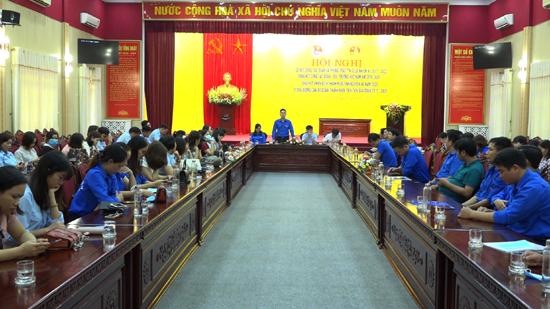Huyện đoàn Thach Thất: Sơ kết công tác Đoàn và phong trào thanh thiếu nhi giữa nhiệm kỳ 2017- 2022
