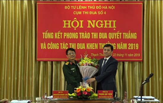 Cụm thi đua số 4 - Bộ Tư lệnh Thủ đô Hà Nội tổng kết phong trào thi đua Quyết thắng và công tác thi đua, khen thưởng năm 2019