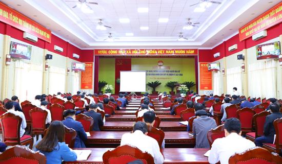 Hội nghị trực tuyến toàn quốc tập huấn, hướng dẫn công tác Bầu cử đại biểu Quốc hội và đại biểu HĐND các cấp nhiệm kỳ 2021-2026