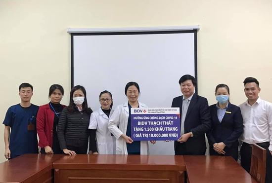 Bệnh viện Đa khoa huyện tiếp nhận vật tư y tế phục vụ công tác phòng, chống dịch Covid- 19