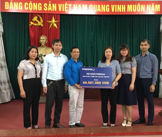 """Tập đoàn PHENIKAA ủng hộ Quỹ """"Vì biển, đảo Việt Nam"""" trên 66 triệu đồng"""