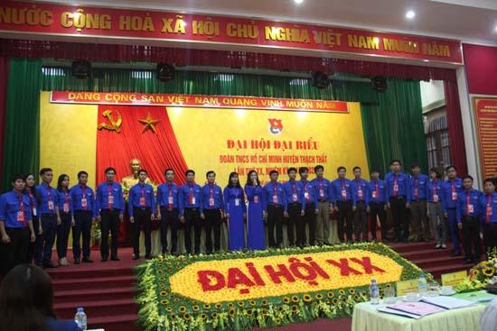 Đại hội Đoàn thanh niên huyện Thạch Thất