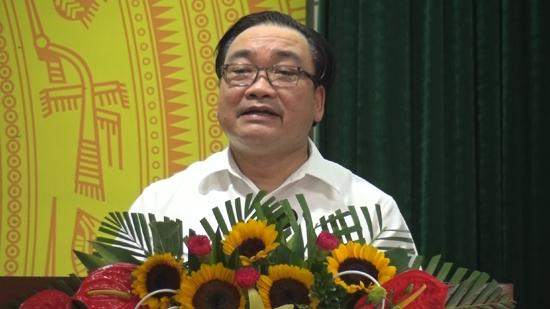 Đoàn Đại biểu Quốc hội thành phố Hà Nội tiếp xúc với cử tri huyện Thạch Thất trước kỳ họp thứ 4