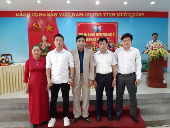 """Đại hội Chi bộ """"điểm"""" thôn Vĩnh Lộc 1, xã Phùng Xá"""
