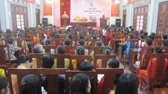 Đại hội Phụ nữ xã Thạch Xá, đại hội Phụ nữ xã Yên Trung nhiệm kỳ 2016- 2021.