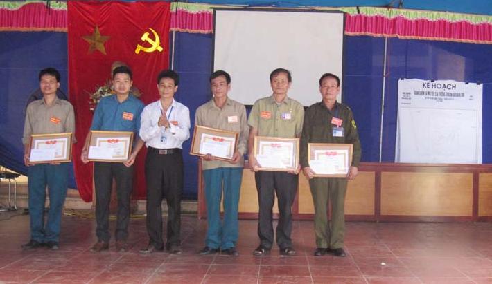 Xã Chàng Sơn tổ chức diễn tập chiến đấu trị an.