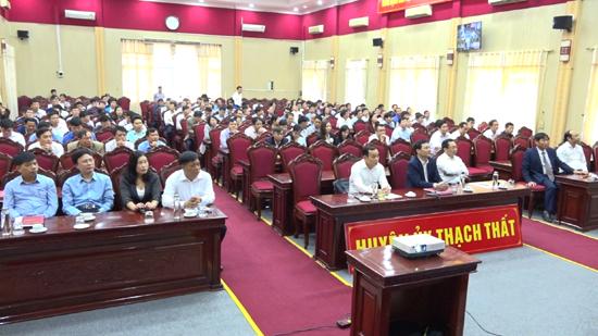Hội nghị trực tuyến thông báo kết quả Đại hội Đại biểu lần thứ XVII- Đảng bộ thành phố Hà Nội, nhiệm kỳ 2020-2025