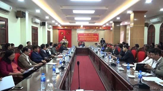 Công bố điều chỉnh cục bộ quy hoạch tại phần đất thành lập cụm công nghiệp làng nghề xã Dị Nậu và Chàng Sơn