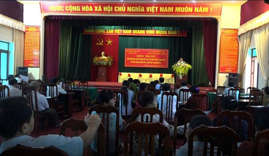 Xã Bình Yên tuyên truyền, phổ biến giáo dục pháp luật cho trên 100 đại biểu