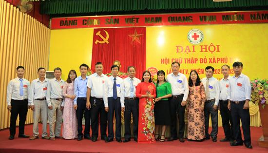 Đại hội Hội Chữ thập đỏ xã Phú Kim lần thứ V nhiệm kỳ 2021 - 2026