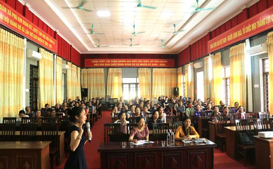 Hội nghị tuyên truyền về Luật Giao thông đường bộ và Văn hóa ứng xử trong gia đình