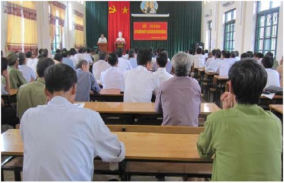 Thạch Thất 100 cán bộ hội cựu chiến binh được tập huấn nghiệp vụ công tác hội