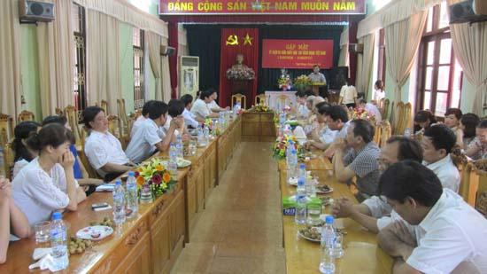 Huyện Thạch Thất tổ chức gặp mặt kỷ niệm ngày Báo chí cách mạng Việt Nam