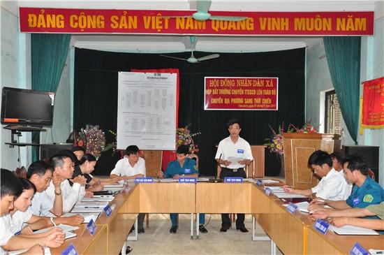 Yên Bình tổ chức diễn tập chiến đấu trị án 2011