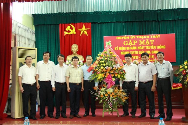 Gặp mặt kỷ niệm 86 năm ngày truyền thống ngành Tuyên giáo của Đảng