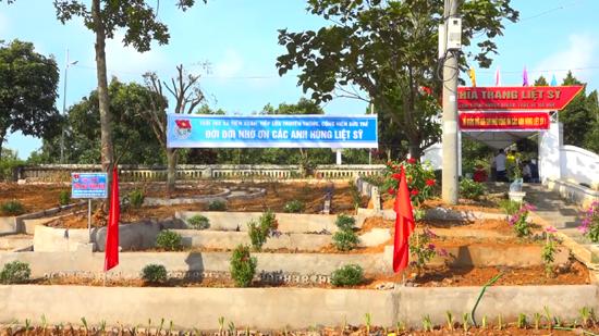 Công trình vườn hoa thanh niên xã Tiến Xuân