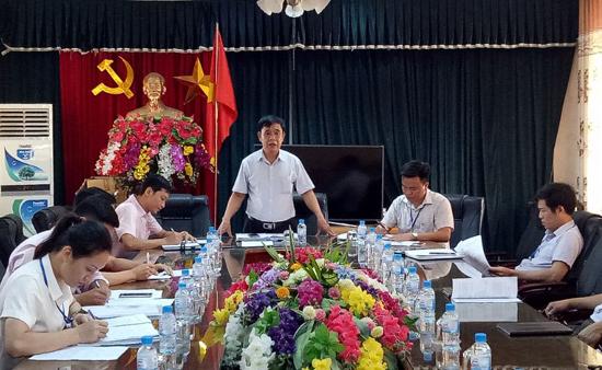 Kiểm tra công tác vay vốn tín dụng chính sách tại xã Tân Xã