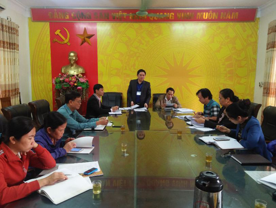 Hội nghị đánh giá công tác lãnh đạo thực hiện tín dụng chính sách xã hội trên địa bàn Thị trấn