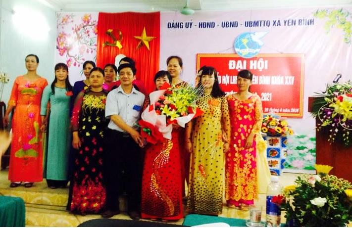 Đại hội Phụ nữ xã Yên Bình nhiệm kỳ 2016- 2021