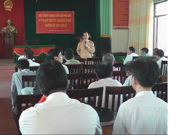 Cưỡng chế thu hồi đất tại thôn Bách Kim- xã Phú Kim- huyện Thạch Thất.