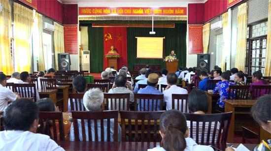 Phú Kim khai mạc bồi dưỡng kiến thức Quốc phòng- An ninh  cho đối tượng 4