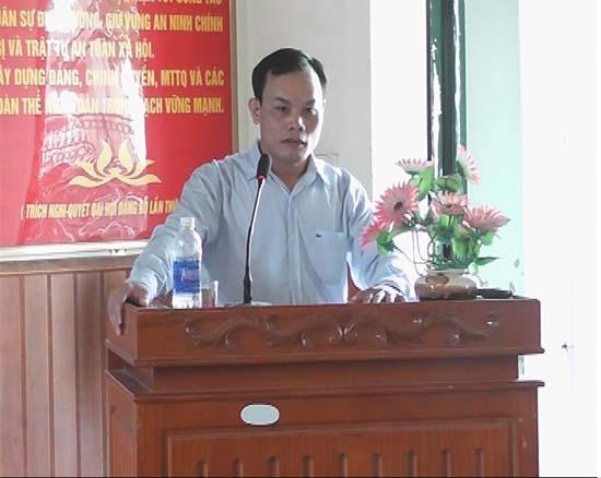 Xã Phùng Xá tổ chức quán triệt hướng dẫn thực hiện các văn bản về tổ chức Đại hội Đảng bộ các cấp nhiệm kỳ 2015-2020.