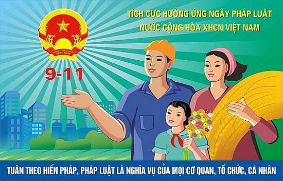 Thạch Thất hưởng ứng Ngày Pháp luật Việt Nam (ngày 09 tháng 11)