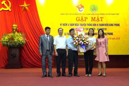 Gặp mặt kỷ niệm 41 năm Ngày truyền thống đơn vị thanh niên xung phong Sơn La- Hà Nội